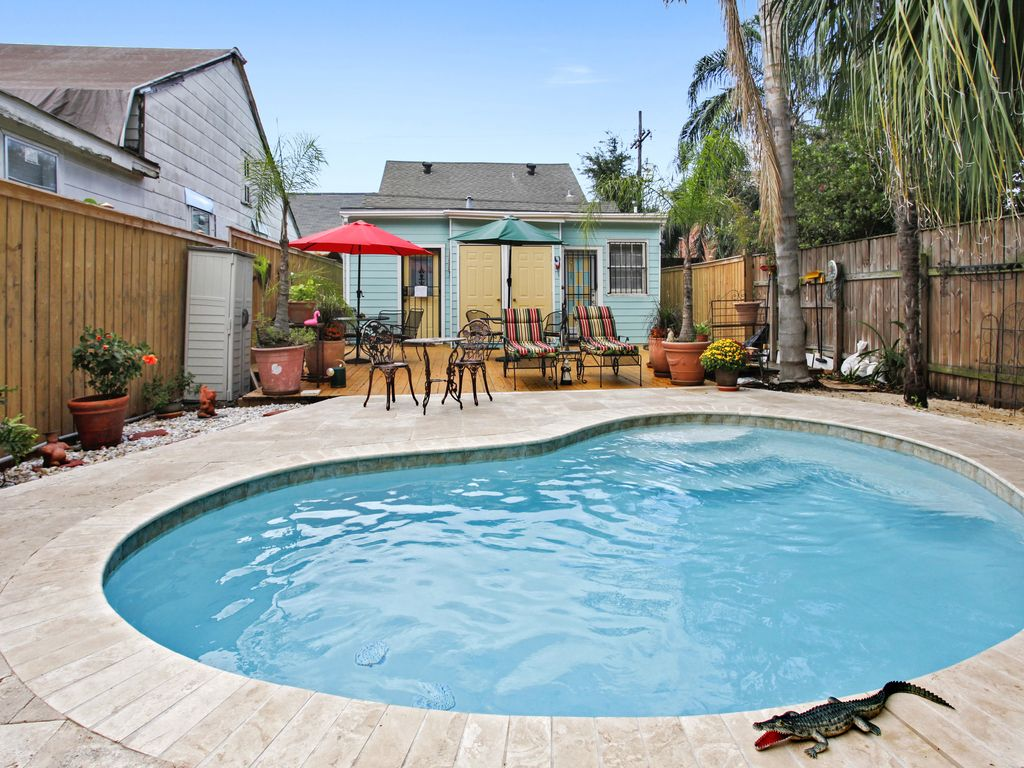 New Orleans Bed And Breakfast With A Heated Pool New Orleans