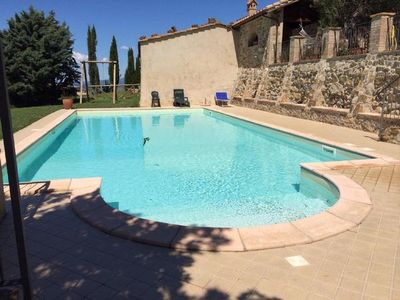 Photo for Castel del Piano holiday rental for 8 - 14 people with 6 bedrooms - Farmhouse