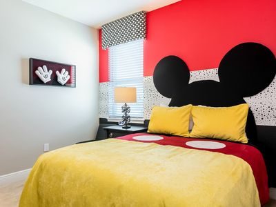 Photo for Free shuttle to parks/Private Pool and Hot Tub/Frozen and Stars Wars themed room