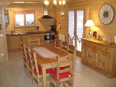 Photo for Chalet des Proyes d'Amont. Chalet 8 people all charges included.