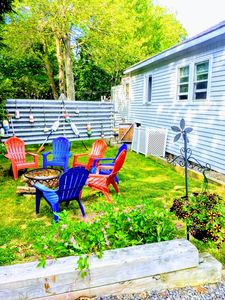 Location!CuteCottage/3MinWalk2Sand/Sleeps7+/Family&DogFriendlyArea/NiceAmenities