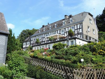 Photo for Comfortable, very well-equipped half-timbered house with spacious terrace