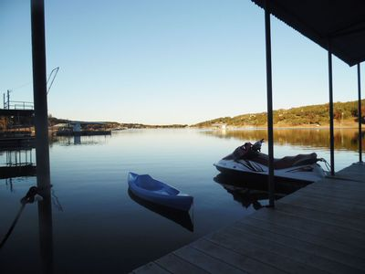 Photo for Lake House, on the Water, Private Dock