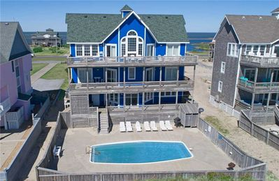 Photo for Sparkling Oceanfront Pool, Hot Tub, Game Rm, Easy Beach Access & Dog-Friendly