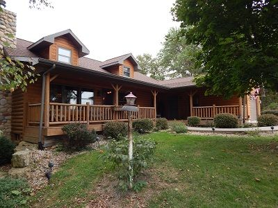Photo for Log Home w/hot tub in Apple Canyon Lake