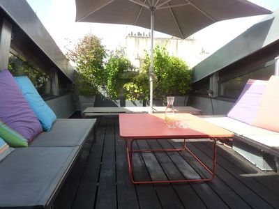Photo for ***** VERY RARE CENTRAL MULTILEVEL LOFT with terrace (180 sqm)Luxury Apartment