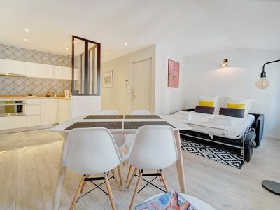 Photo for IMMOGROOM - A/C - 5min from the beaches 8 min from Palais - CONGRESS/BEACH