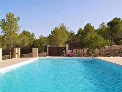 Photo for 4 bedroom Villa, sleeps 8 in Cala Gració with Pool, Air Con and WiFi