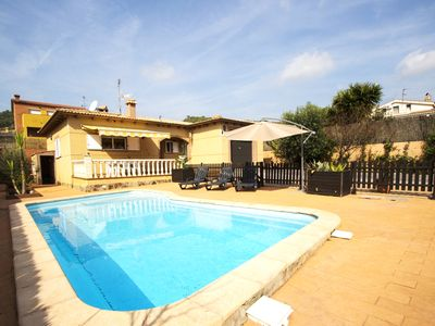 Photo for Catalunya Casas: Villa Mas Borras with a private pool, just 5 minutes from the beach!