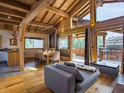 Photo for A superb new 5-star chalet — tastefully furnished