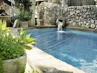 Photo for Small oasis in the center of Valldemossa with garden and pool, for 12 people