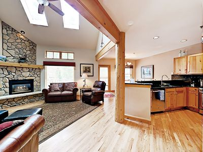 Photo for 4BR Mountain Townhome with Deck & Hot Tub—Near Lake and Keystone Resort