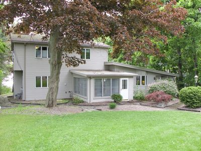 Photo for Family Friendly 5 Bedroom Lakefront Home Directly on Owasco Lake