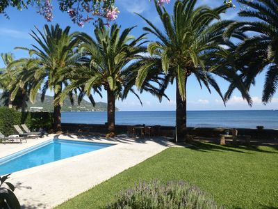 Photo for Luxury chalet with pool and private beach access, formerly Casa Elisabeth