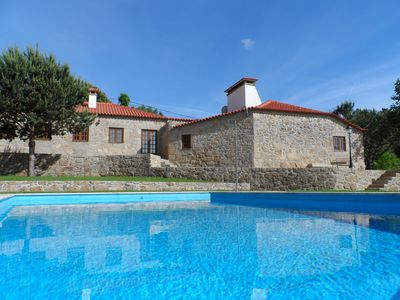 Photo for Rustic house with private pool. Ideal for families with children. Free Wifi