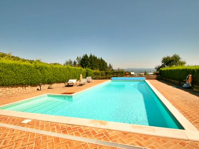 Photo for Casa Riozzo. PRIVATE TENNIS, PRIVATE POOL, out/indoor kitchens, free wifi
