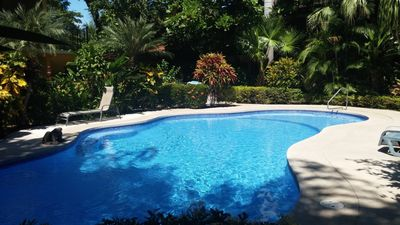 Photo for 2 Bedroom Condo - One block to the Beach