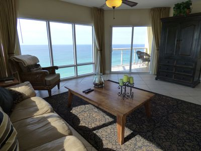 Photo for 10th Floor Panoramic View of the Gulf 3 Bedroom/2 Bath