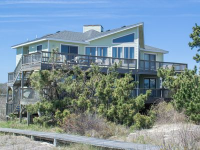 Photo for D6650 Dolphin Destination. Oceanfront/Panoramic Ocean View, Hot Tub, PETS OK!