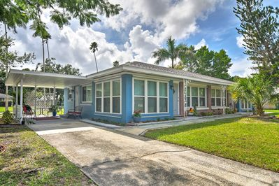Explore Bradenton from this 1-bed, 1-bath vacation rental house.