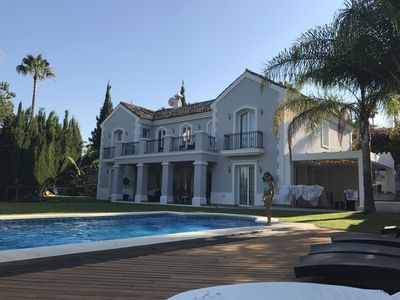 Photo for Villa Maracana this at the best and most exclusive area or Nueva Andalucia