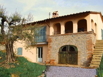 Photo for Private Villa, Infinity Pool And Stunning Lake Views, Set Amongst Ancient Olives