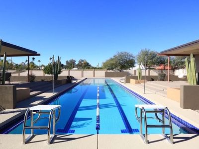 Photo for ⭐️LUXURY GETAWAY - ❤️ OF SCOTTSDALE -RACING POOL⭐️