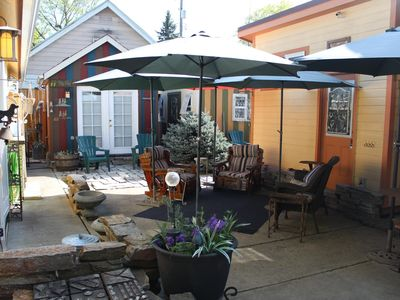 Photo for NEW LISTING-Stunning Downtown Cottage/Two Guest Cabins Near Lake Coeur d'Alene