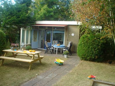 Photo for Detached cozy holiday home with spacious garden by the sea with sandy beach.