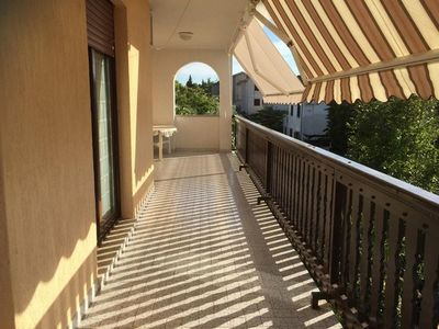 Photo for Three bedroom apartment with terrace Punat (Krk)