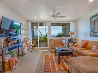Photo for Poipu Makai E-1 Ocean Front 2 Bdr/2 Ba Ground Floor with A/C