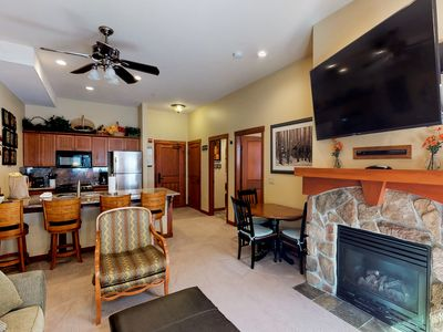 Photo for Remodeled ski-in/ski-out condo with a shared pool, hot tub & fitness center!