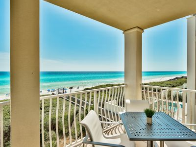Photo for Newly Renovated Gulf Front Condo! Amazing Views! Directly on the beach!