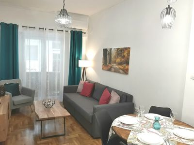 Photo for Ideal Apartment in Athens,15min from Acropolis by Metro