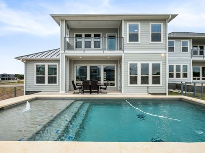 Photo for Lake LBJ Luxury Home with Private Heated Pool, Boat Slip & Lake View