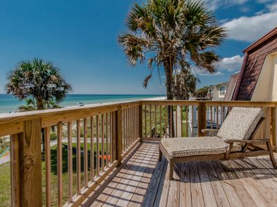 Photo for JUST UPDATED and SANITIZED top notch Gulf Front West End condo!