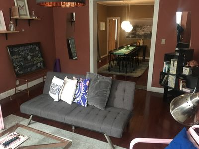 Photo for Corky, Lofty  2 Bedroom apartment, Minutes from Manhattan