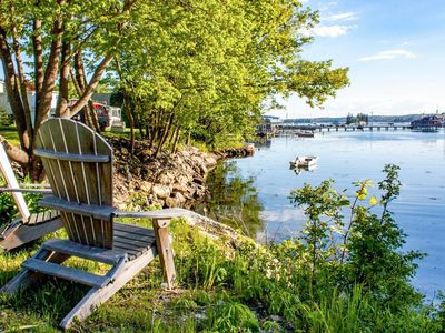 Photo for Snug Harbor: Historic 1BR, 1BA Boothbay Harbor Cottage w/Antique Decor