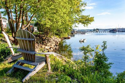 Snug Harbor - Welcome to Boothbay Harbor! Have your morning coffee and enjoy the views of Snug Harbor.