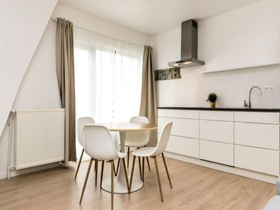 Photo for Bruto 33 apartment in European Quarter with WiFi & lift.
