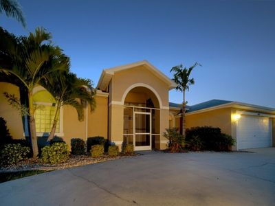 Photo for Coral Belle - Gulf Access Pool Home with Great Water Views