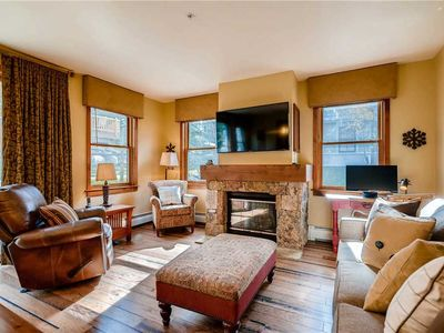 Photo for Beautiful in town condo with great patio, fantastic summer getaway