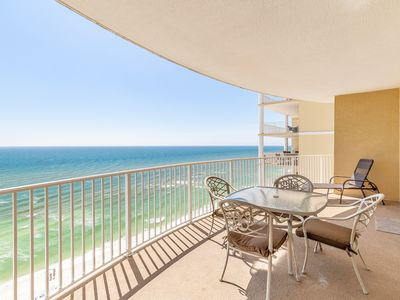 Photo for 14th Flr Gulf Views☀BeachFront Pool☀Inspected & Disinfected☀2BR Twin Palms 1401