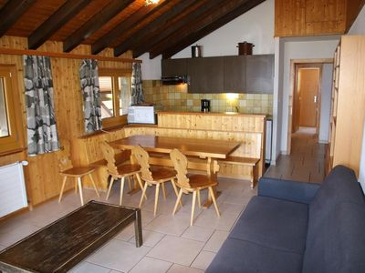 Photo for 2* - 3-bedroom-apartment for 10-12 people with free WiFi located at about 800m from the lift, in a c