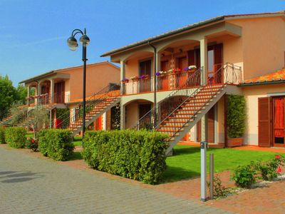 Photo for Luxury apartment with AC, in the green Maremma