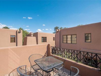 Photo for El Corazon de Santa Fe, 3 Bedrooms, Sleeps 6, Flat Panel TVs, Fireplaces