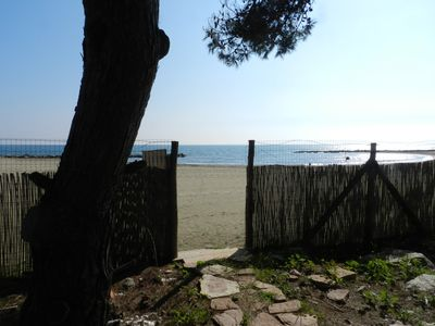 Photo for A charming Villa in Residence front the beach in Circeo