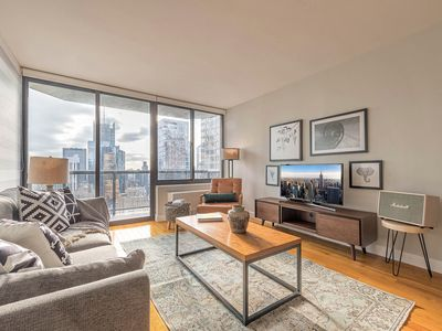Photo for Ample Midtown 1BR w/ Indoor pool, Gym near Broadway by Blueground