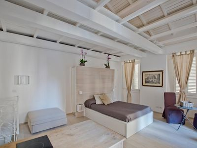 Photo for Small Loft located a few steps from the Colosseum and in the pedestrian area of ​​the Monti district
