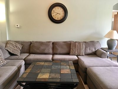 Large family room couch